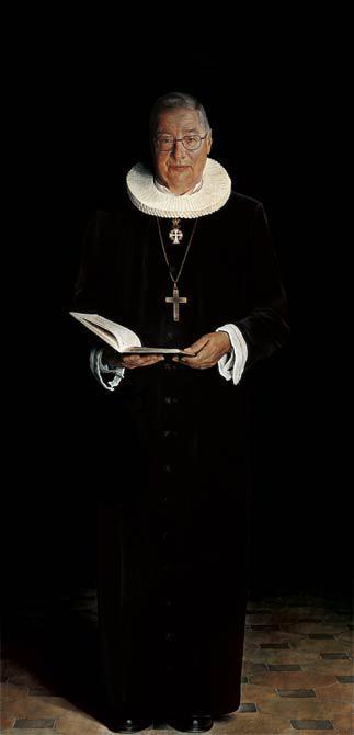 Bishop of Copenhagen 2000 210 x 105 cm - Thomas Kluge