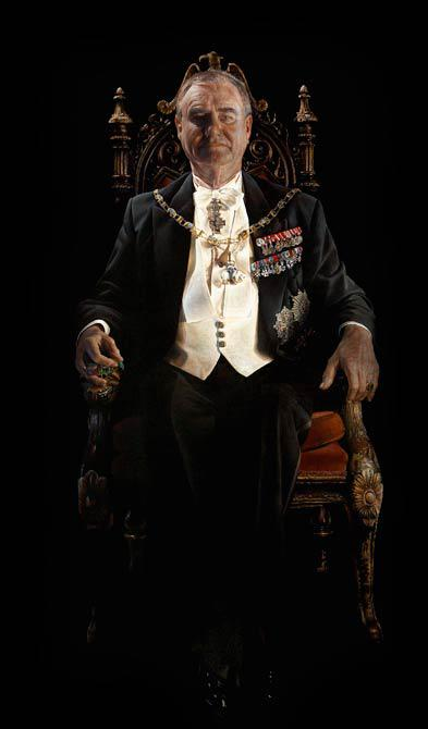 His Royal Highness the Prins Consort 2005 170 x 100 cm - Thomas Kluge