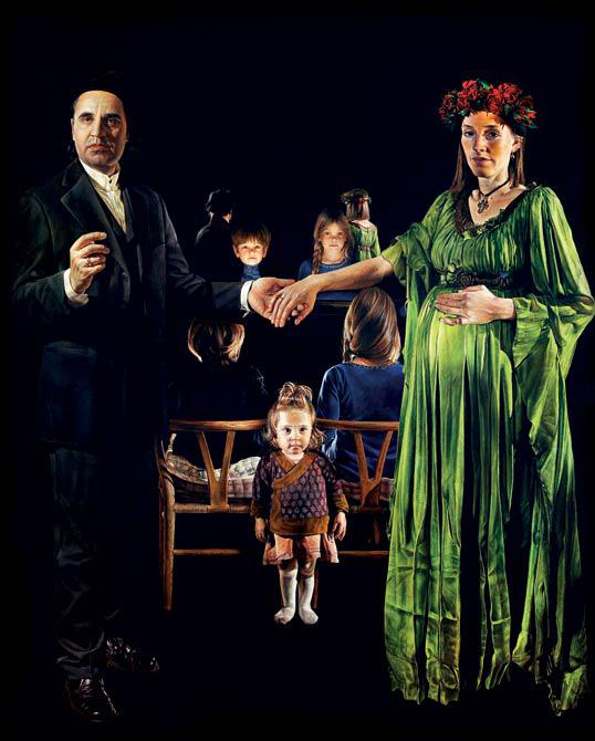 The Wedding 210 x 170 cm - Thomas Kluge
