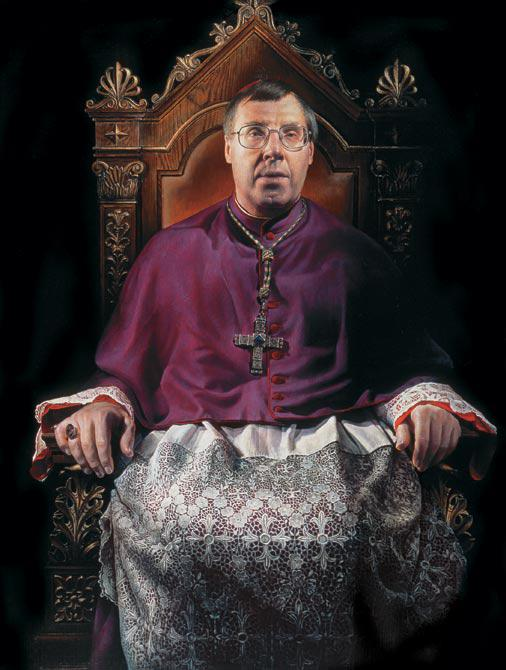 Bishop Head of the Catholic Church in Denmark 2005 130 x 100 cm - Thomas Kluge